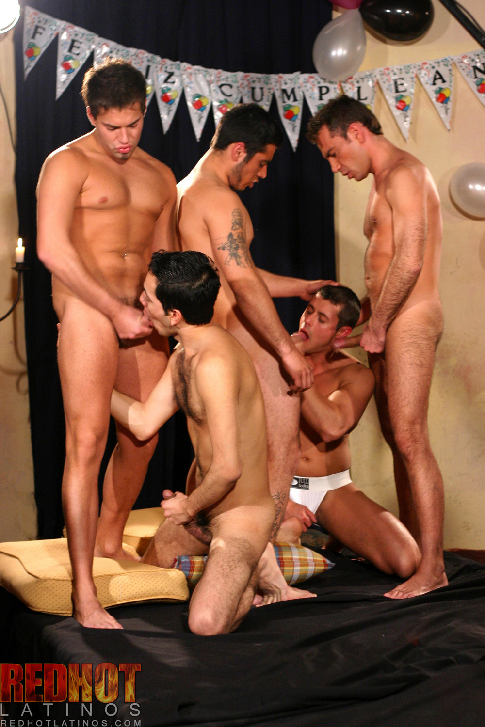 Latino orgy free videos
