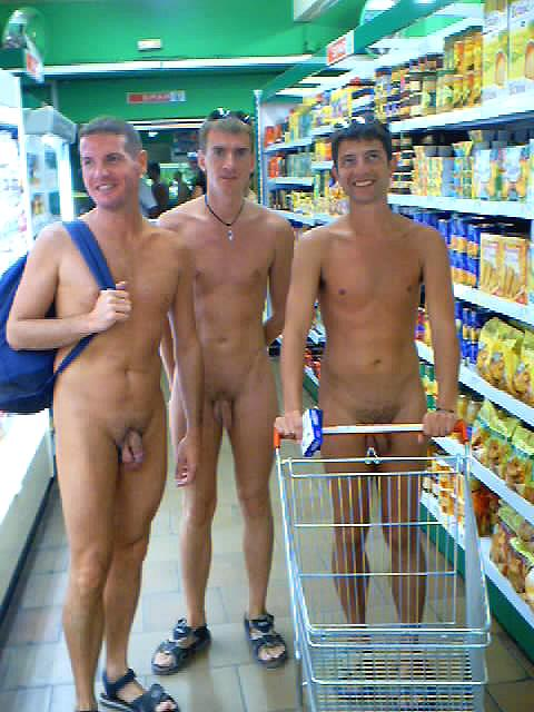 Naked men public nude