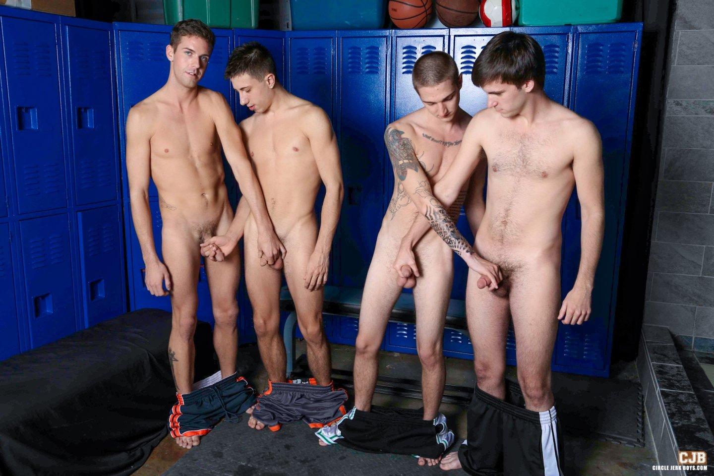 Circle jerk Amateur gay twink