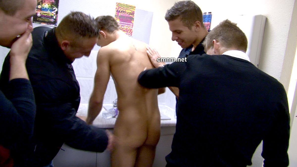 Male public spanking gay first time before 4