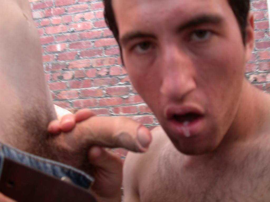 Males sucking out cum gay robbery suspect 9