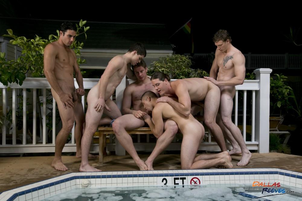 Hungry Jock Orgy