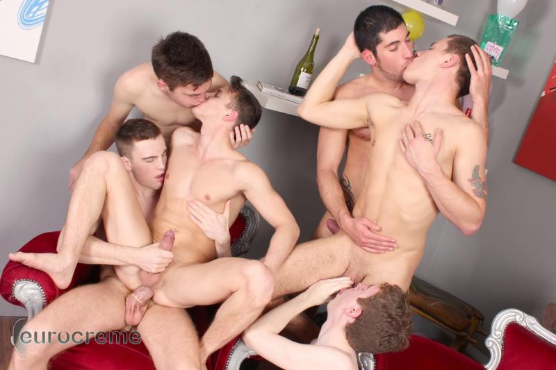 Mom Boy Orgy