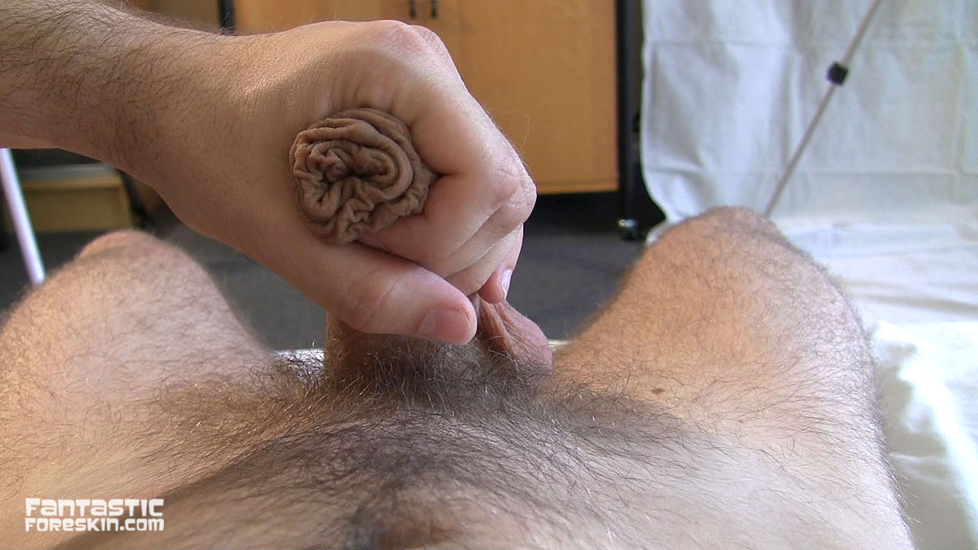 Sucking cock with foreskin
