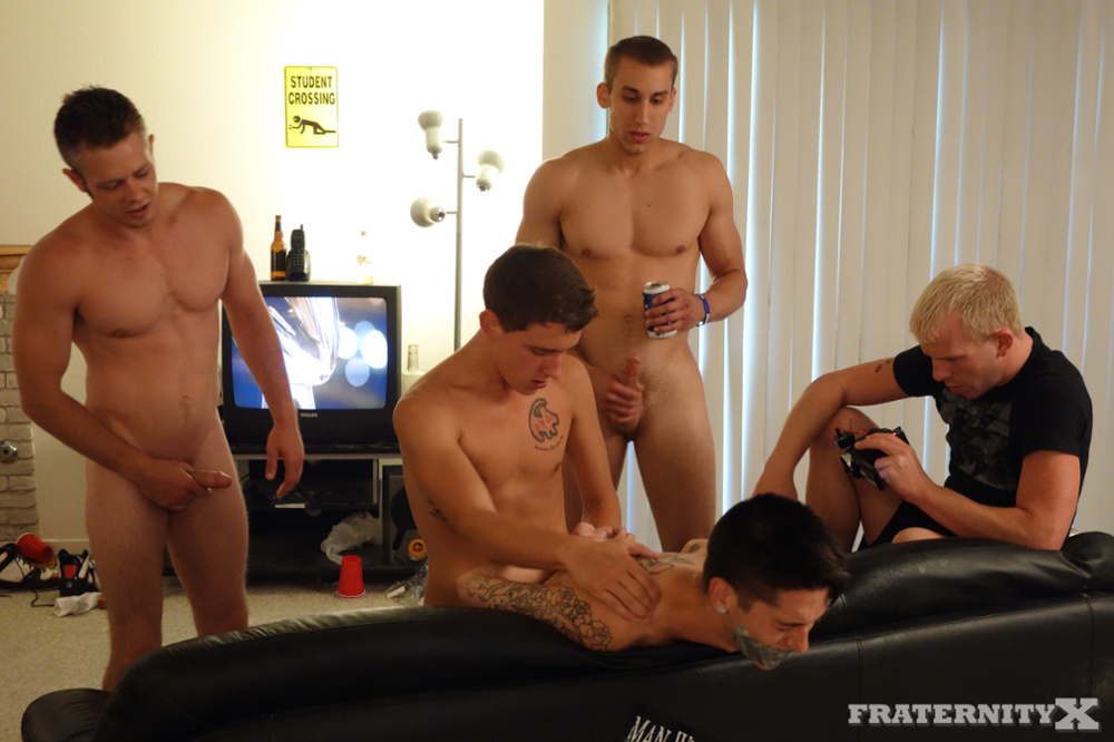 Gay college football locker room sex movie