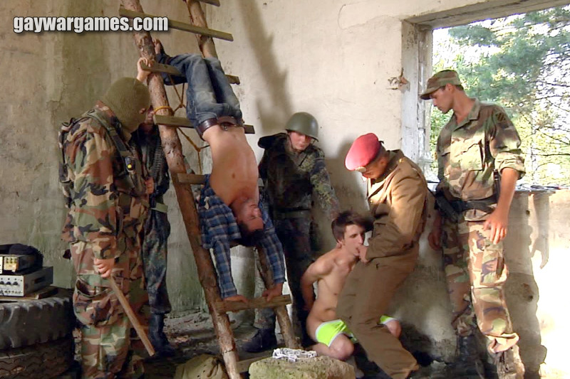 image Soldier fuck men gay xxx good anal training