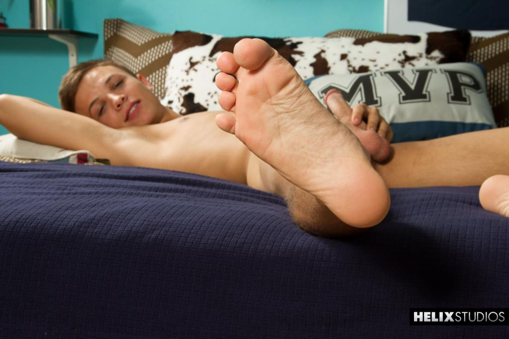 Teen boy flip flop feet monster cock gay