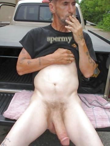 Straight olderman has a big bulge 4