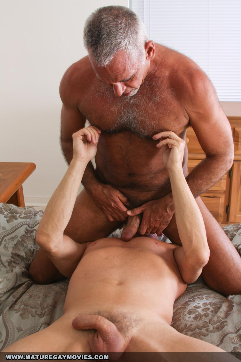 Mature Gay Asshole