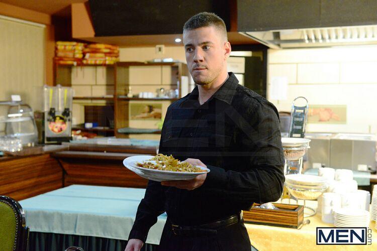 kitchen gay bang