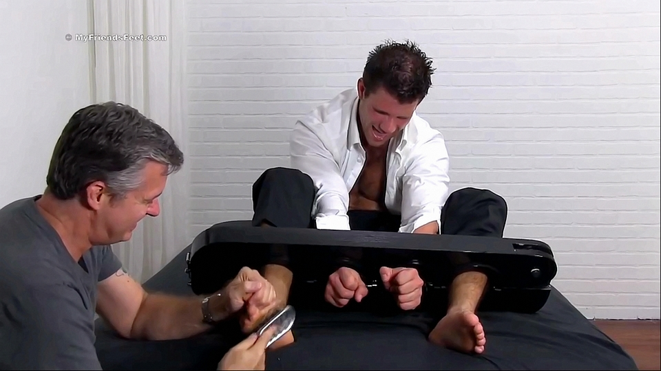 Cole Gets His Feet Tickled
