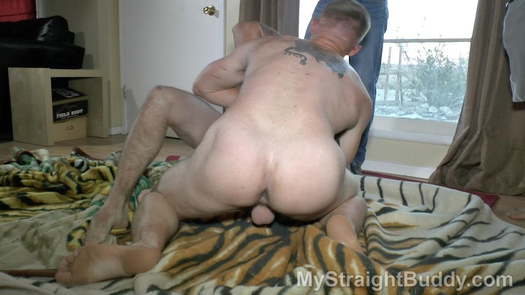 Naked straight buddy wrestling