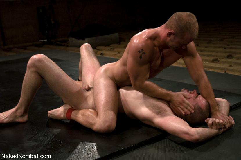 nude fight club men