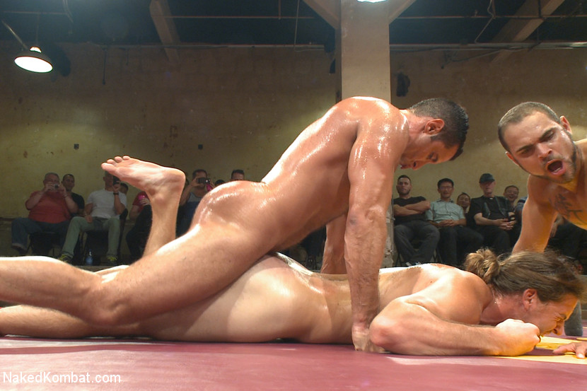 Can not Naked tag team wrestling very