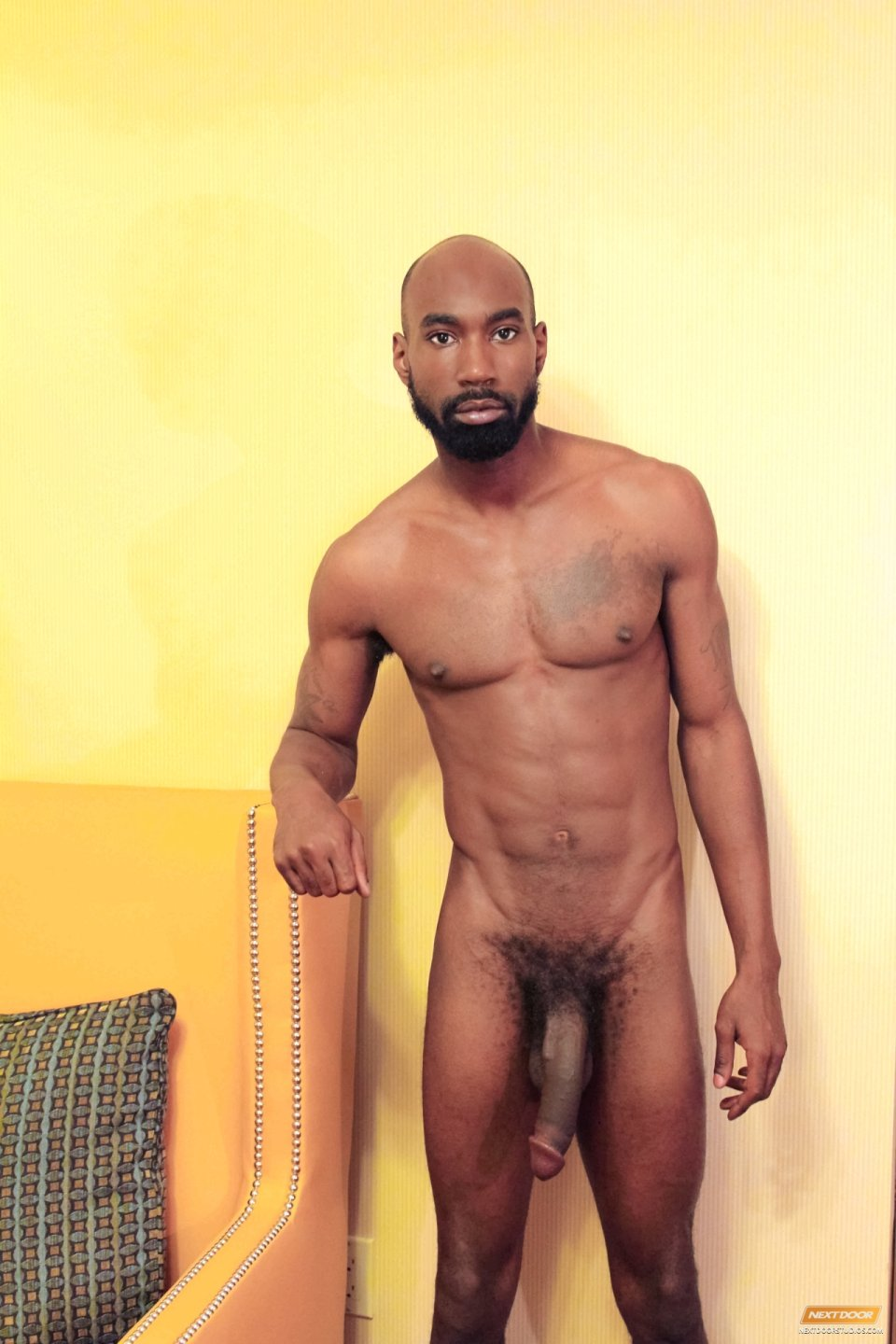 sexy black men in the nude