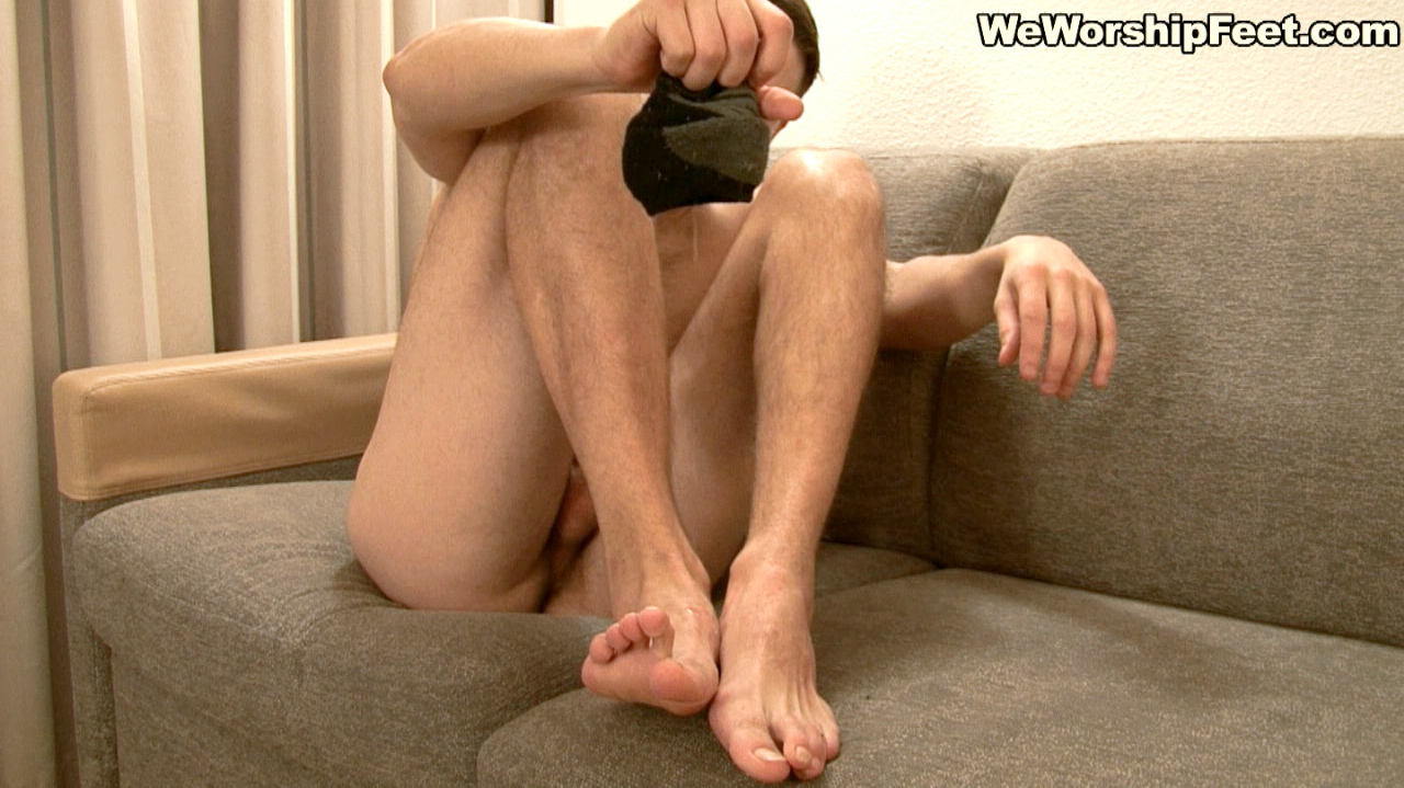 Wanking With Feet