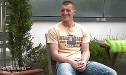 Ozzie Rugby Hunk, Cory Burns.