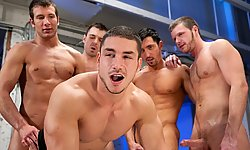 4 Boys, 1 Eager Hole