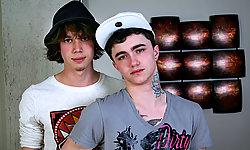 Justin Lebeau and Jake Bass