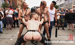 Humiliated at Dore Alley Street Fair