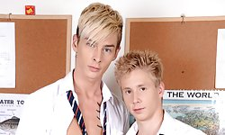 Connor Levi and Justin Conway