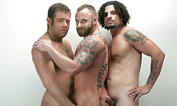 Derek Parker, Ty Dylan and Darius Sol