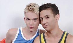 Daniel Prince and Jaden Fox