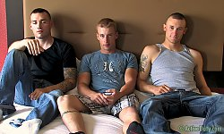 Drew, Vic and Wayne