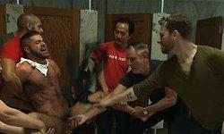 Janitor Raped By Bathroom Cruisers