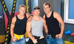 Paul, Brandon and Brody