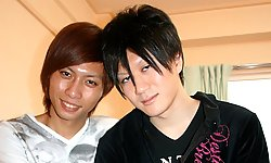 Ryo Yamashta and Tsuyoshi