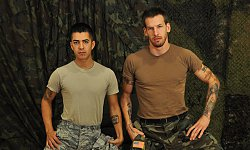 Specialist Wolf Nails Airman Paolo