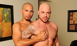 Antonio Biaggi and Ben Statham