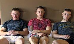 Tim, Corey and Wayne