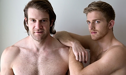 Colby Keller Hammers Levi Michaels