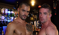 Scott Hunter and Issac Jones