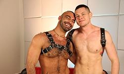 Tony Thorn and Blue Bailey