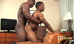 Deangelo Jackson and Logan Heart