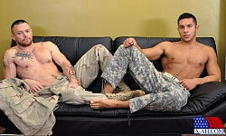 Private Seth Drills Sergeant Miles