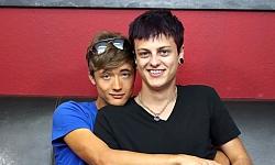 Jason Valencia and Zack Love