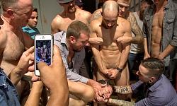 Bar Slut Gang Fucked