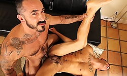Alessio Romero and Gabriel Louis