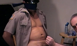 Str8 Boy Blindfolded and Blown