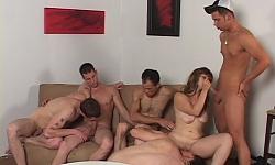 Bi-Bareback Orgy 2