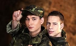 Dick Casey and Yuri Adamov