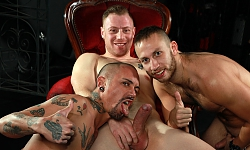 Saxon, Brent and Alexx