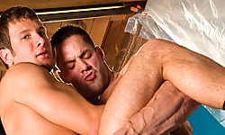 Erik Rhodes and Spencer Fox