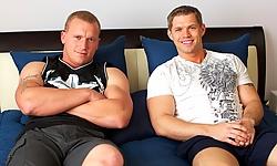 Kaden and Nick Tower
