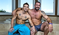 Vinny Castillo and Johnny Torque