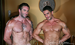 Jake Genesis and Robin Sanchez